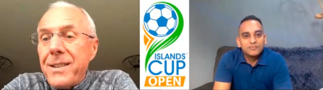 Svennis pratar om uppdraget på Islands Cup Opens hemsida.