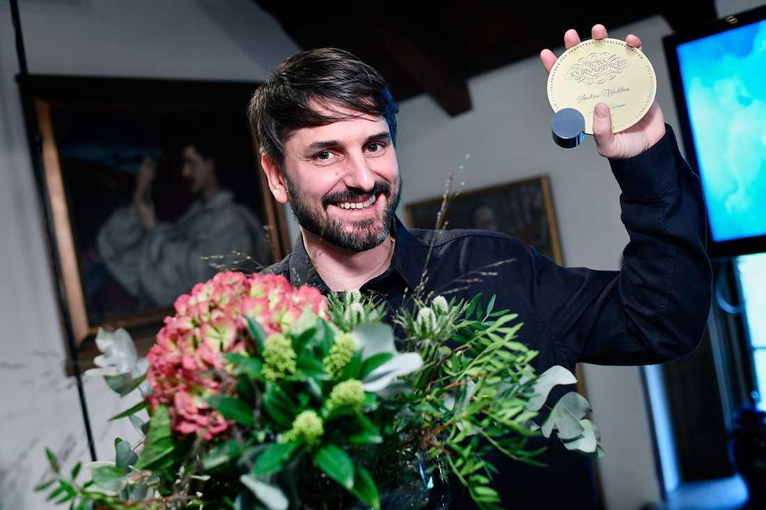 Aftonbladets kolumnist Andrev Walden har nomineras till Stora journalistpriset i kategorin Årets röst.