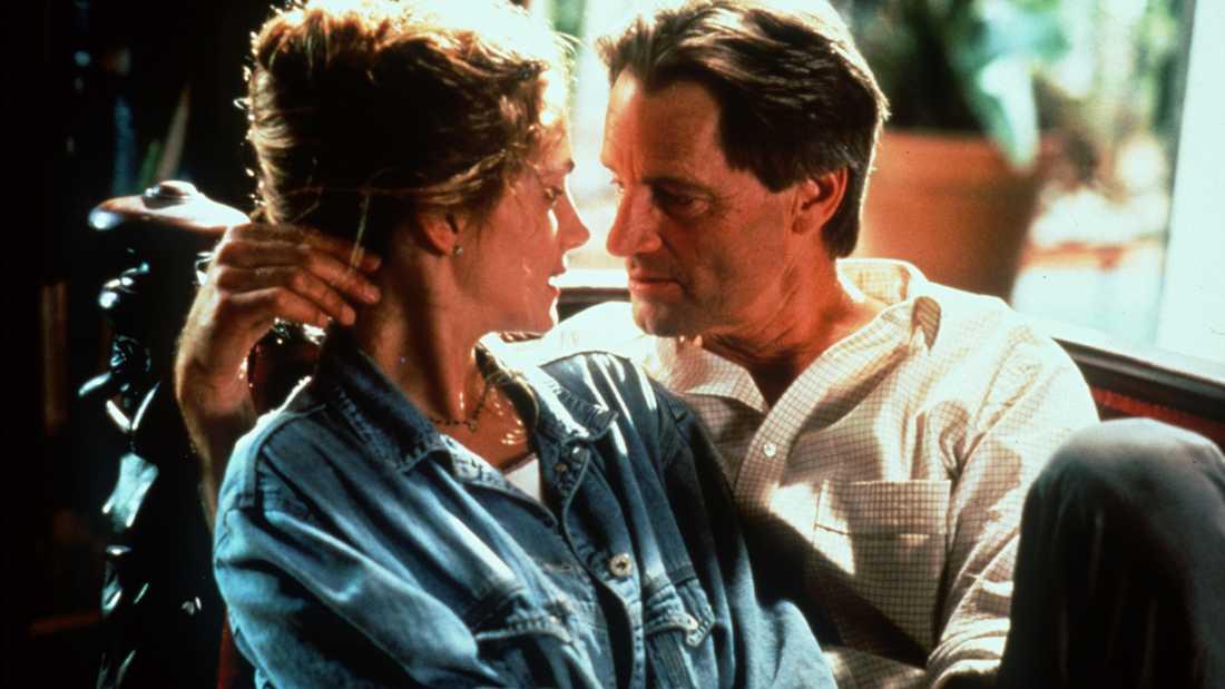 """Sam Shepard och Julia Roberts i """"Pelikanfallet""""."""