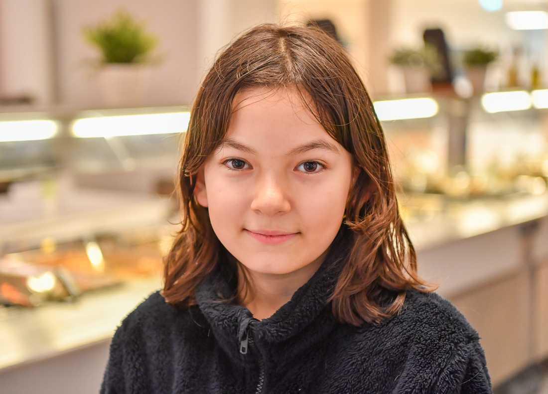 Kevin Östlund, 11 år, elev på Skapaskolan i Huddinge.