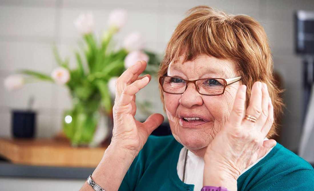 Ann-Kristin Pivén, 76.