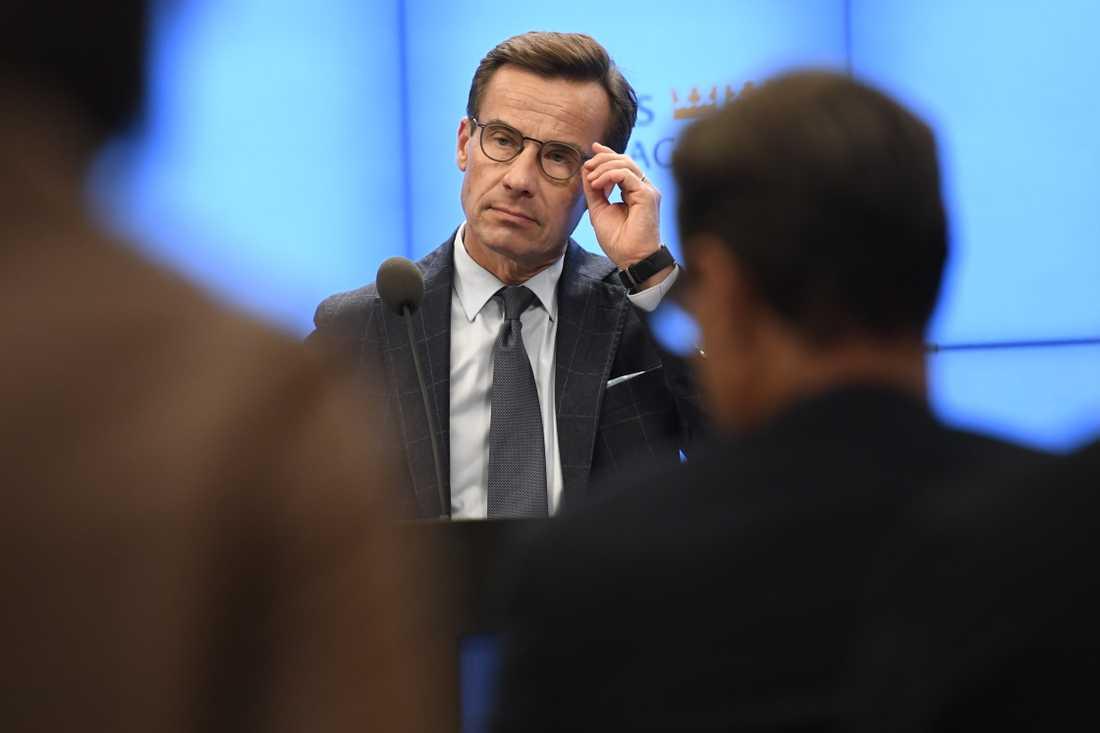 Moderaternas partiledare Ulf Kristersson har fått uppdraget att försöka bilda regering.