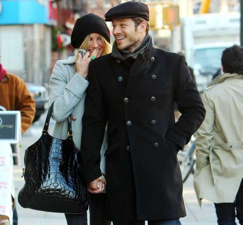 Giftassugna Cameron Diaz och Paul Sculfor.