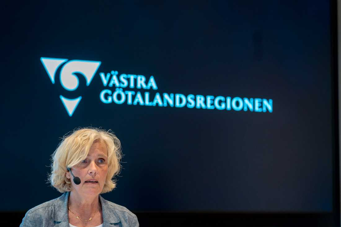 Ann Söderström, hälso- och sjukvårdsdirektör i Västra Götalandsregionen.