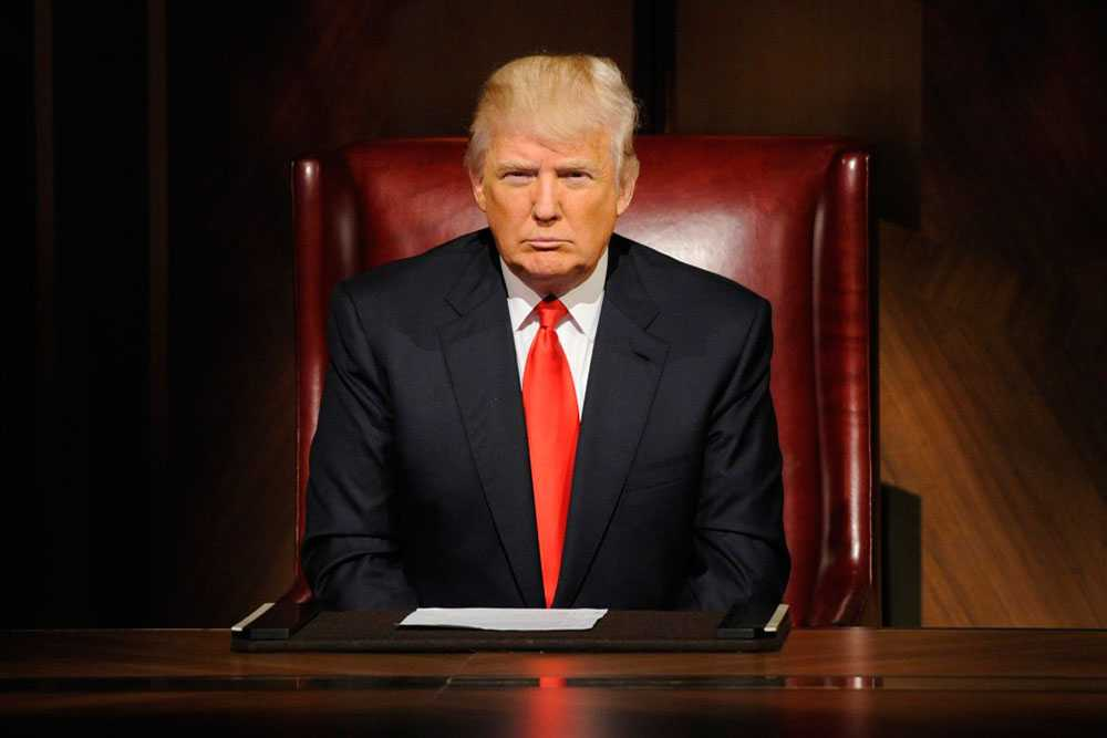 Donald Trump i The Apprentice.