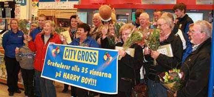 City Gross i Ytterby spelade i höstas hem 8,7 miljoner på V64. På onsdag kan det vara dags igen.