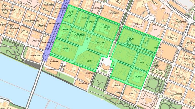 Här blir den rökfria zonen i Umeås innerstad.