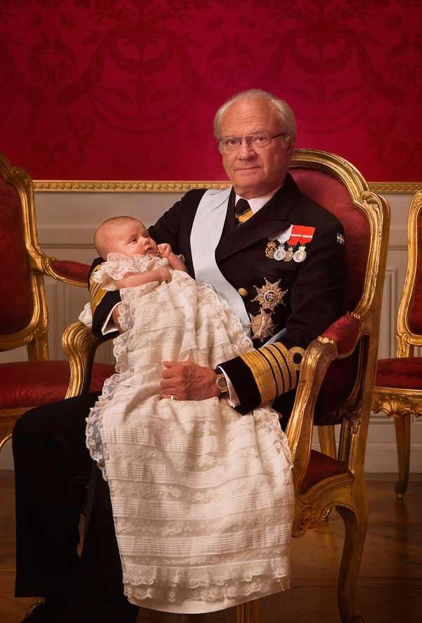 Morfar kungen och Estelle.