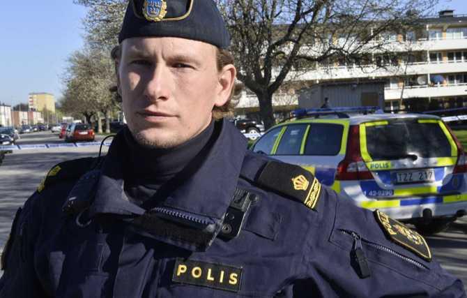 Polisens presstalesman Nicklas Pettersson.