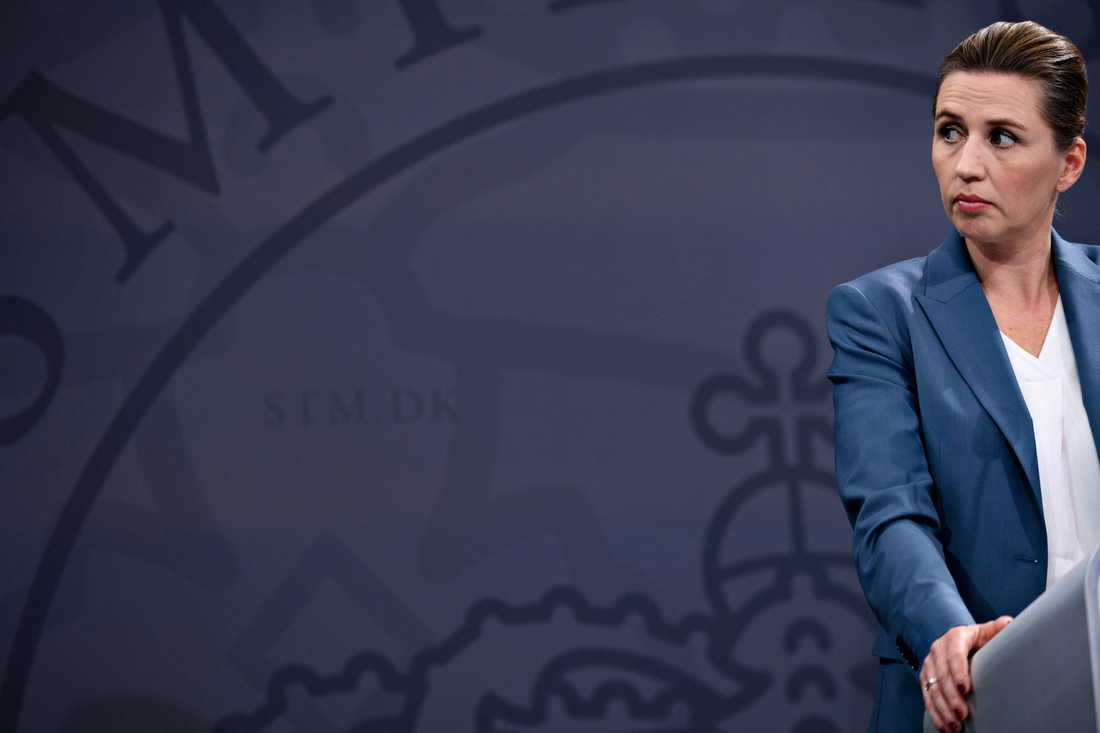 Danmarks statsminister Mette Frederiksen. Arkivbild.