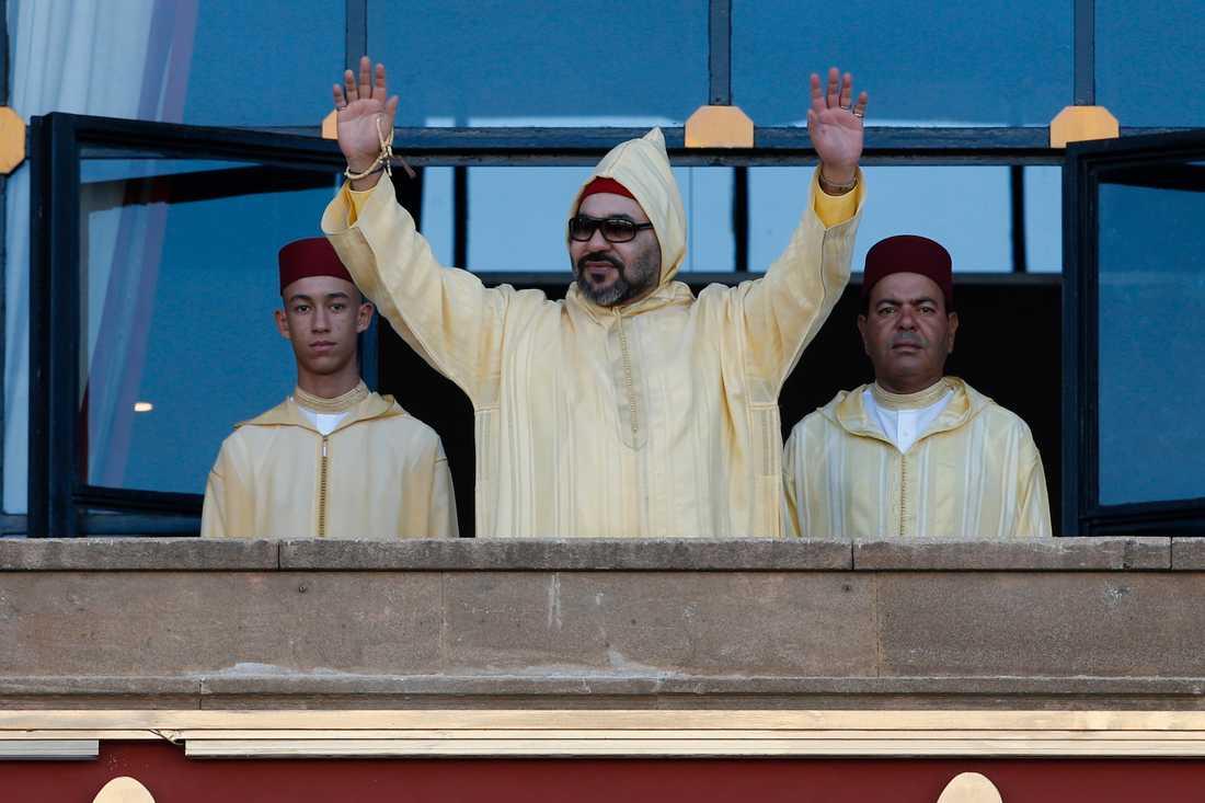 Marockos kung, Mohammed VI, har lanserat landet som en stabilitetens föregångare i regionen. Arkivbild.