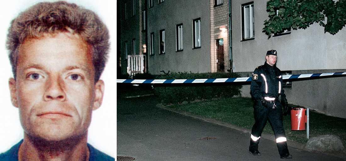 Fackföreningsledaren Björn Söderberg mördades utanför sin dörr i Sätra utanför Stockholm 12 oktober 1999,