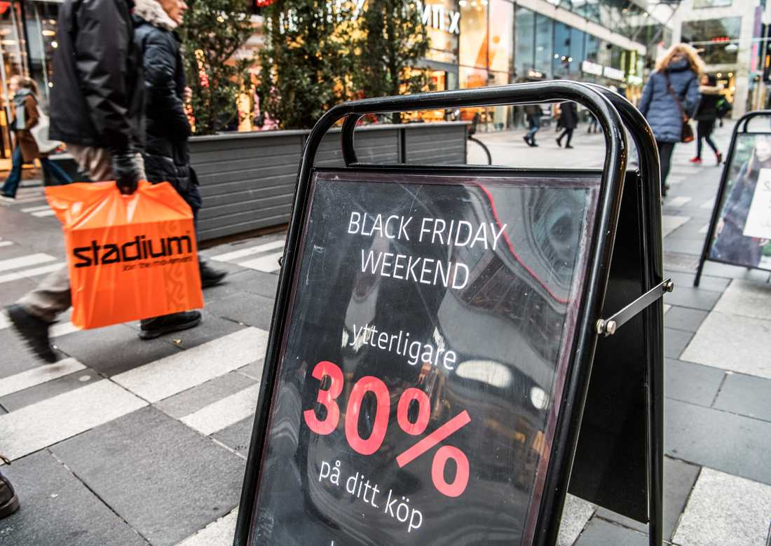 Var femte vara höjdes i pris under Black Friday 2018.