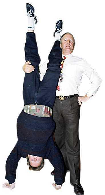 1991 - Bert och Ian skojar till det.