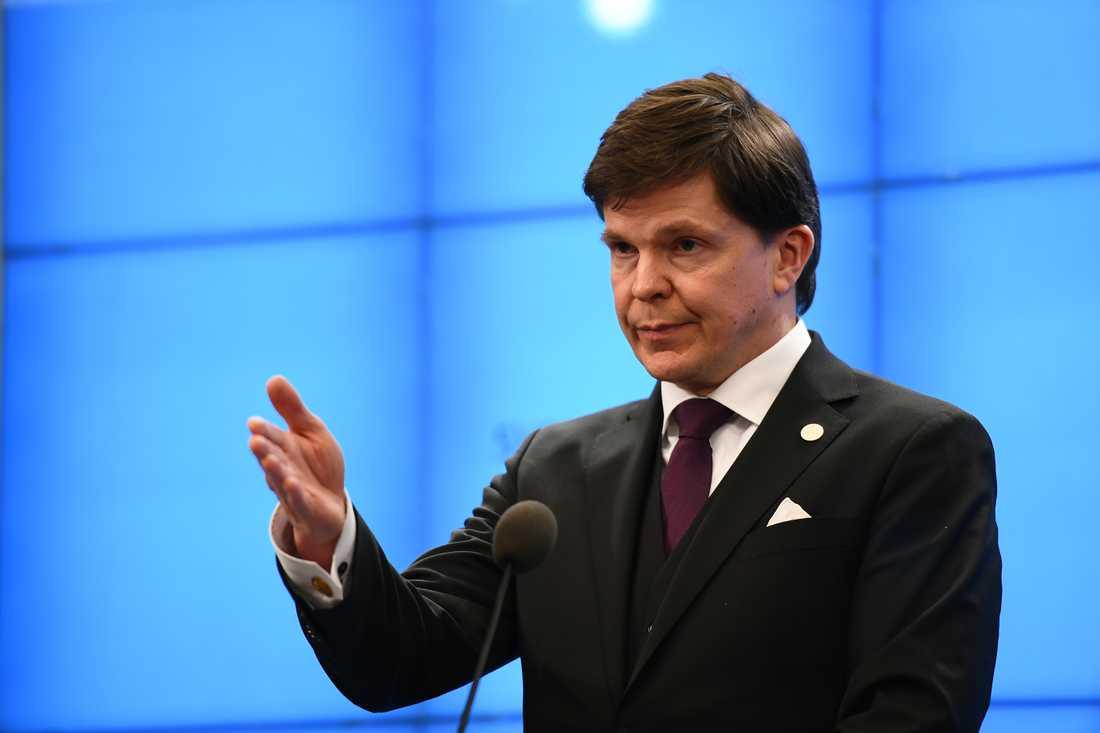 Riksdagens talman Andreas Norlén