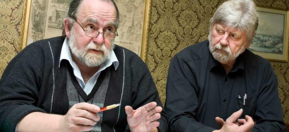 Hans Lundqvist och Anders Rörby har jobbat med förslaget.