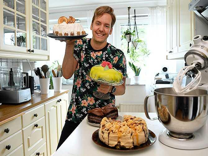 VEGANSKA TÅRTOR – Ofta är det jobbigt att försöka påverka den här världen. I toppen sitter en massa gubbar som inte lyssnar. Men du kan i alla fall göra en viktig insats själv genom att äta veganskt, säger Mattias Kristiansson.