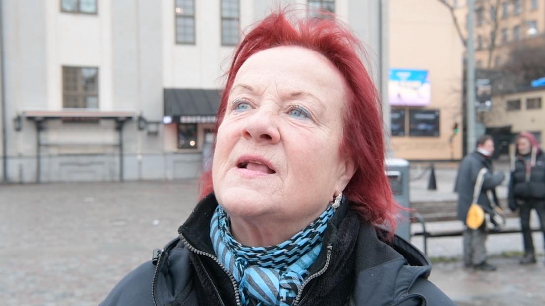 Mona Grälls Hjälper hemlösa.