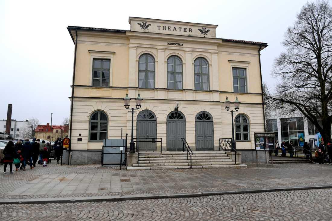 Teaterhuset vid teatertorget i Växjö. Arkvibild.