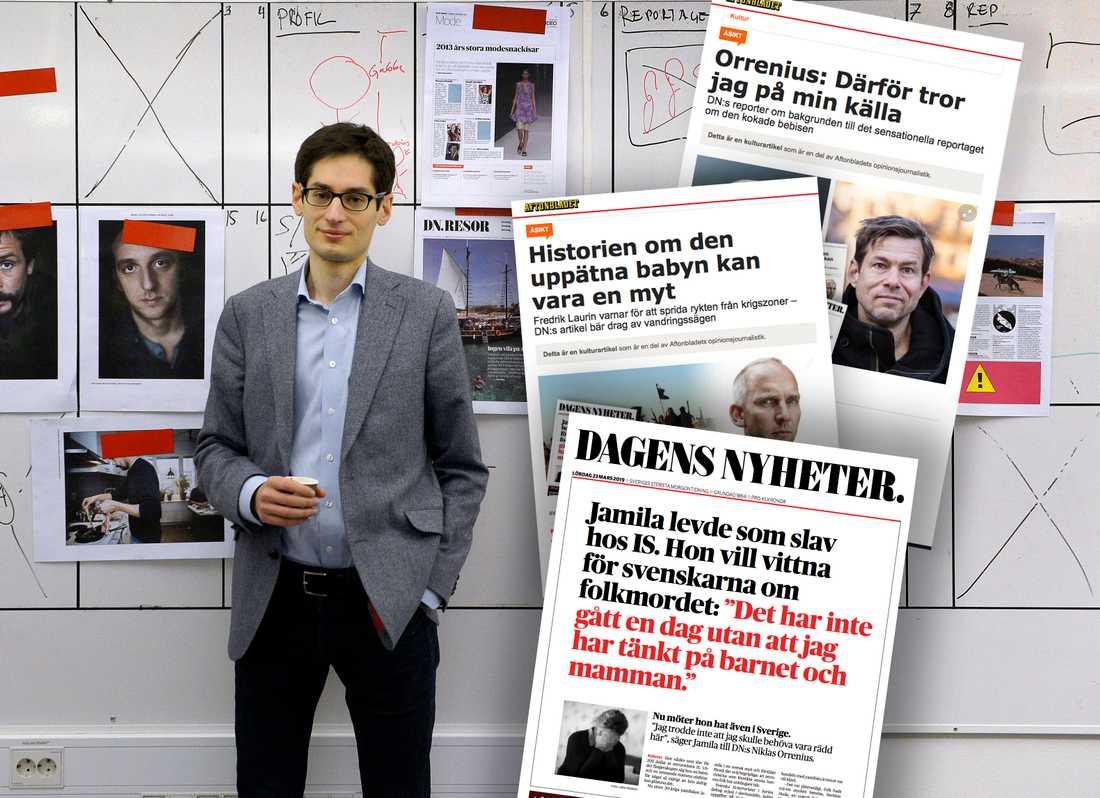 Dagens Nyheters chefredaktör Peter Wolodarski