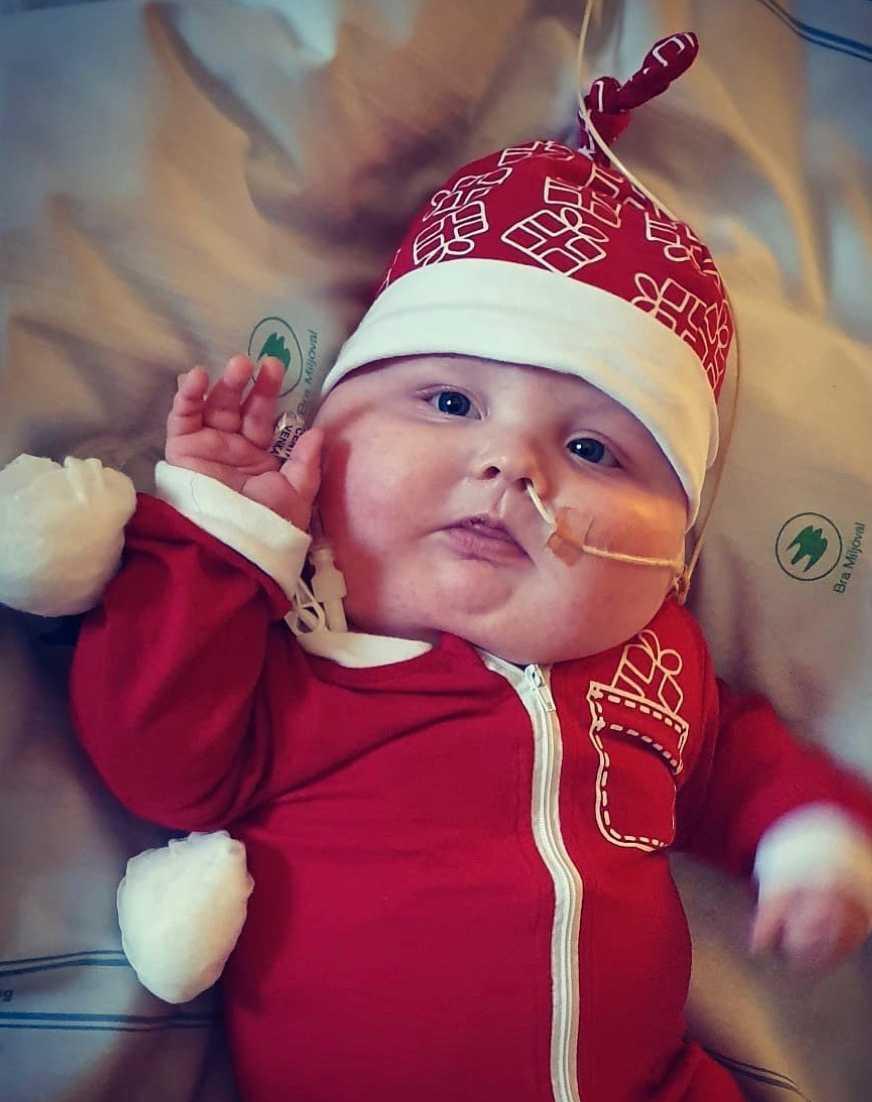 Julen kommer att tillbringas på Ronald McDonald Hus.
