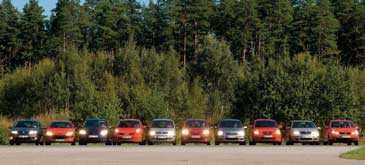 """""""Fiat Punto är stor och rymlig - men tyvärr dyrast att köra"""""""