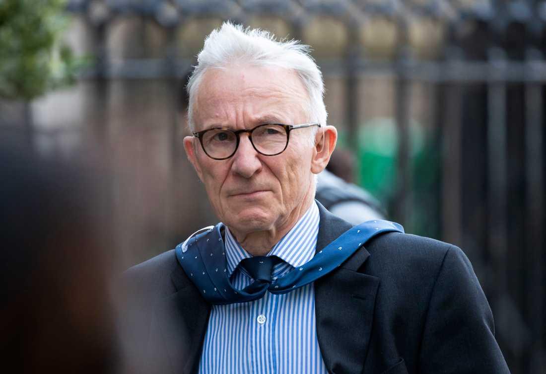 Edinburgh-domaren Lord Doherty ska besluta om huruvida Boris Johnsons beslut att ajournera parlamentet strider mot konstitutionen eller inte. Arkivbild.