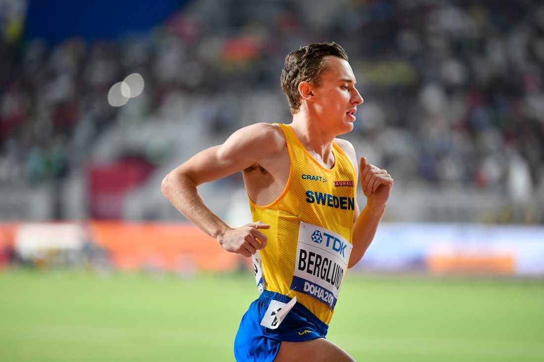 Kalle Berglund tävlar i Monaco på fredagskvällen.