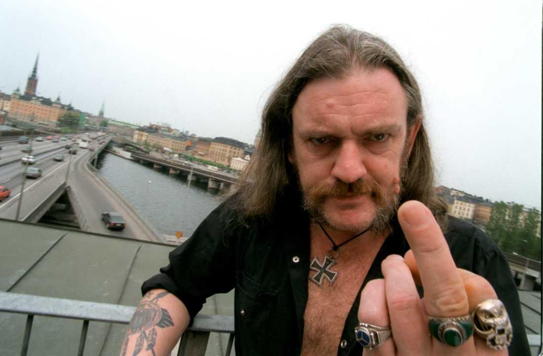 Lemmy Kilmister besöker Stockholm juni 1996
