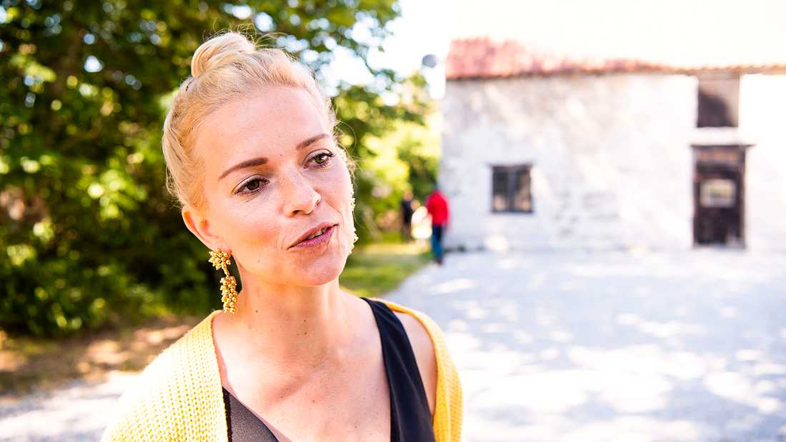 """Petra Marklund tillbaka på Gotland för att spela in """"Så mycket bättre"""" 2019."""