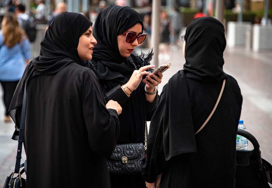 Kvinnor i Dubai.