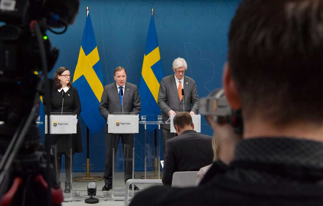 Stefan Löfven meddelade på tisdagen att att gymnasieskolorna rekommenderas till distansundervisning.