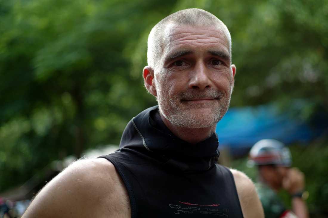 Dykaren Ivan Karadzic har varit med under räddningsinsatsen.