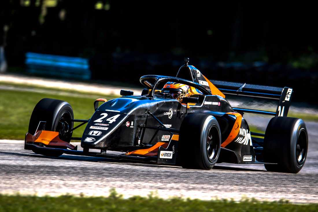Talangen Linus Lundqvist satsar mot amerikansk racing.