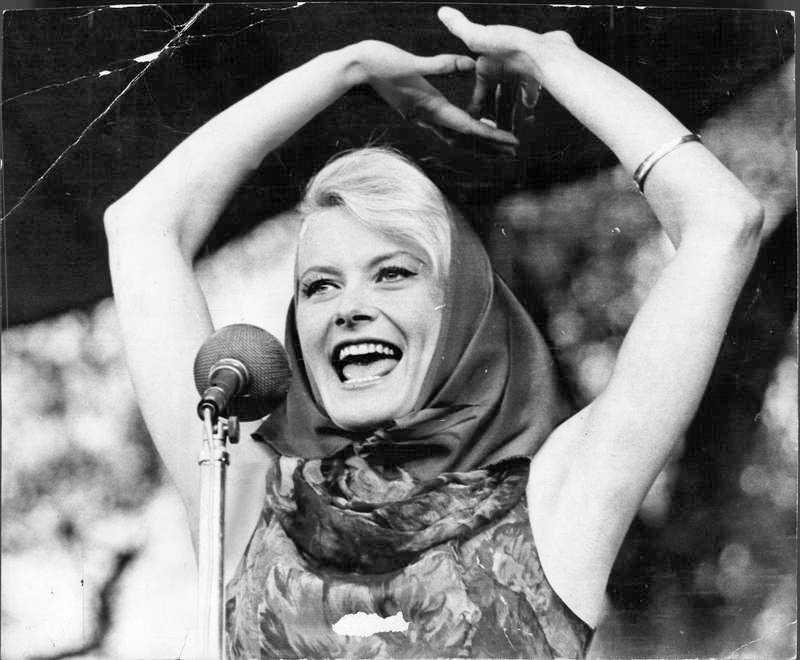 I Kungsträdgården 1962.