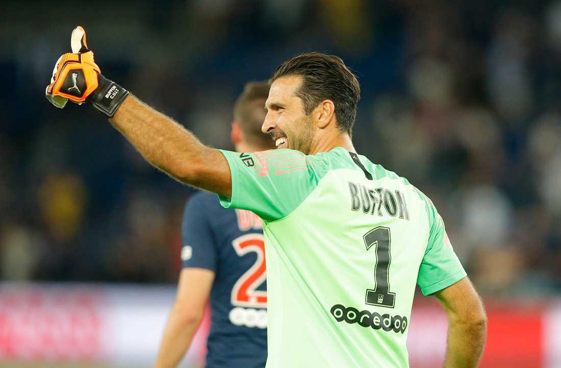 Gianluigi Buffon lämnar Paris SG