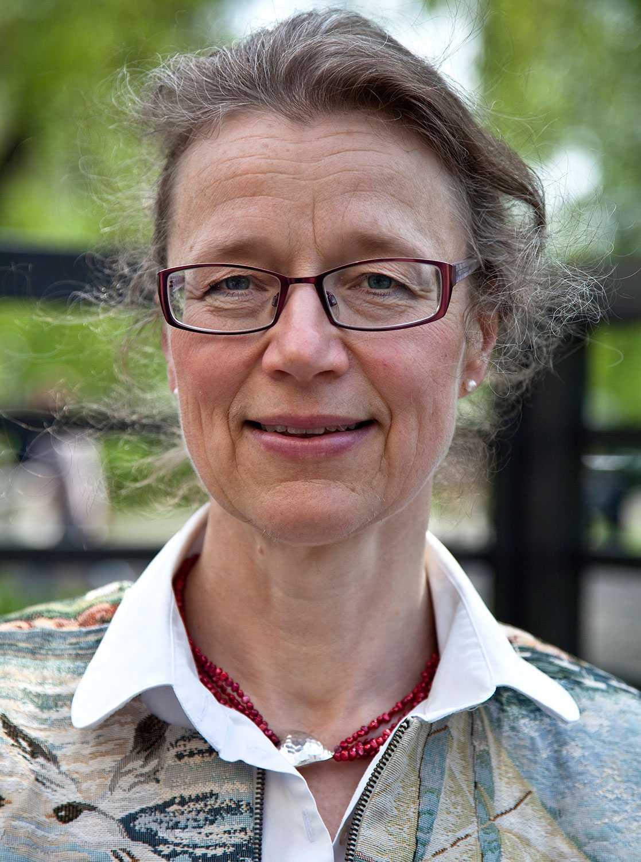 Annika Tibell, tillförordnad sjukhusdirektör.