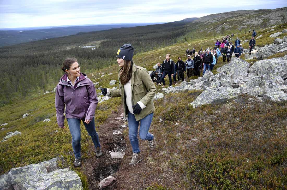 Tillsammans vandrade de igenom Fulufjället nationalpark