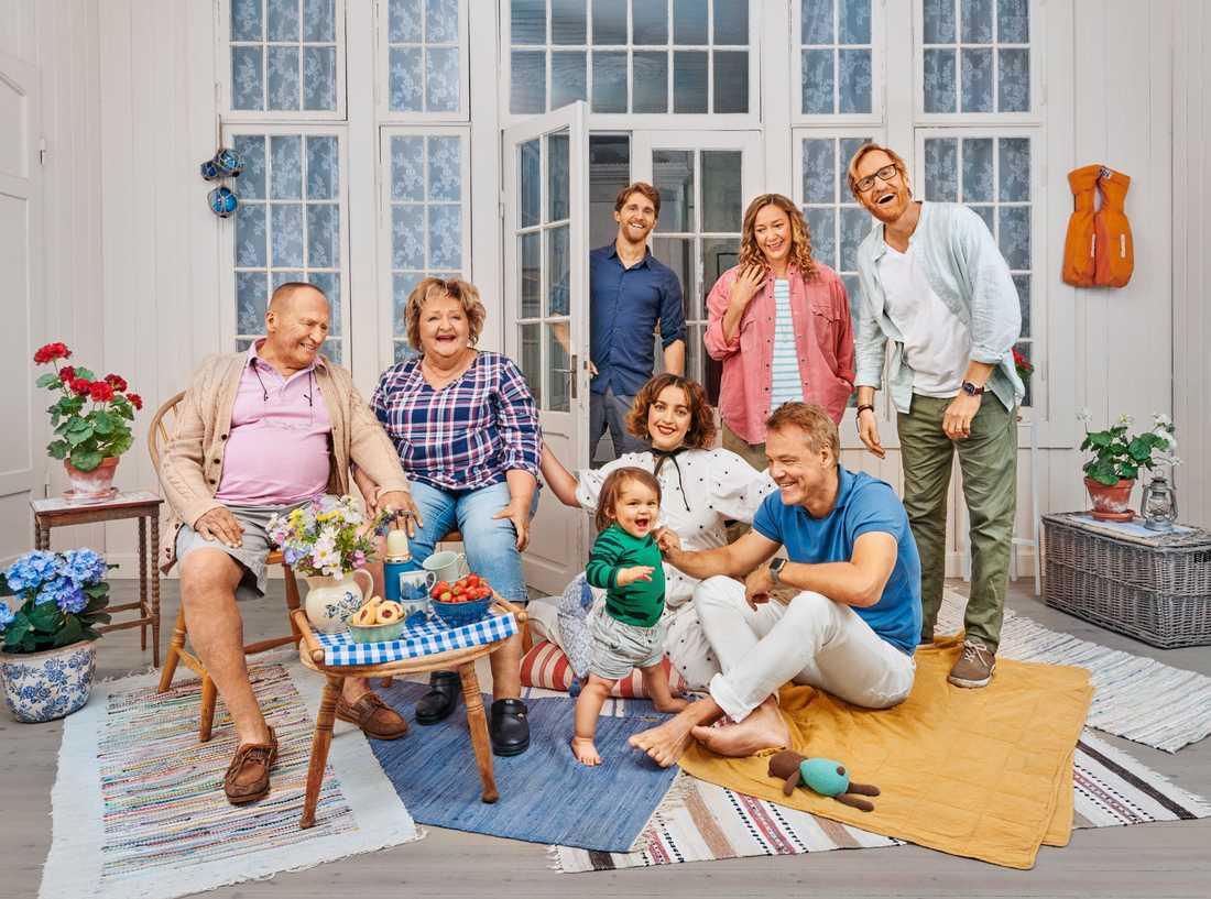 """Tv-serien """"Sjölyckan"""" är tillbaka med en tredje säsong. Pressbild."""