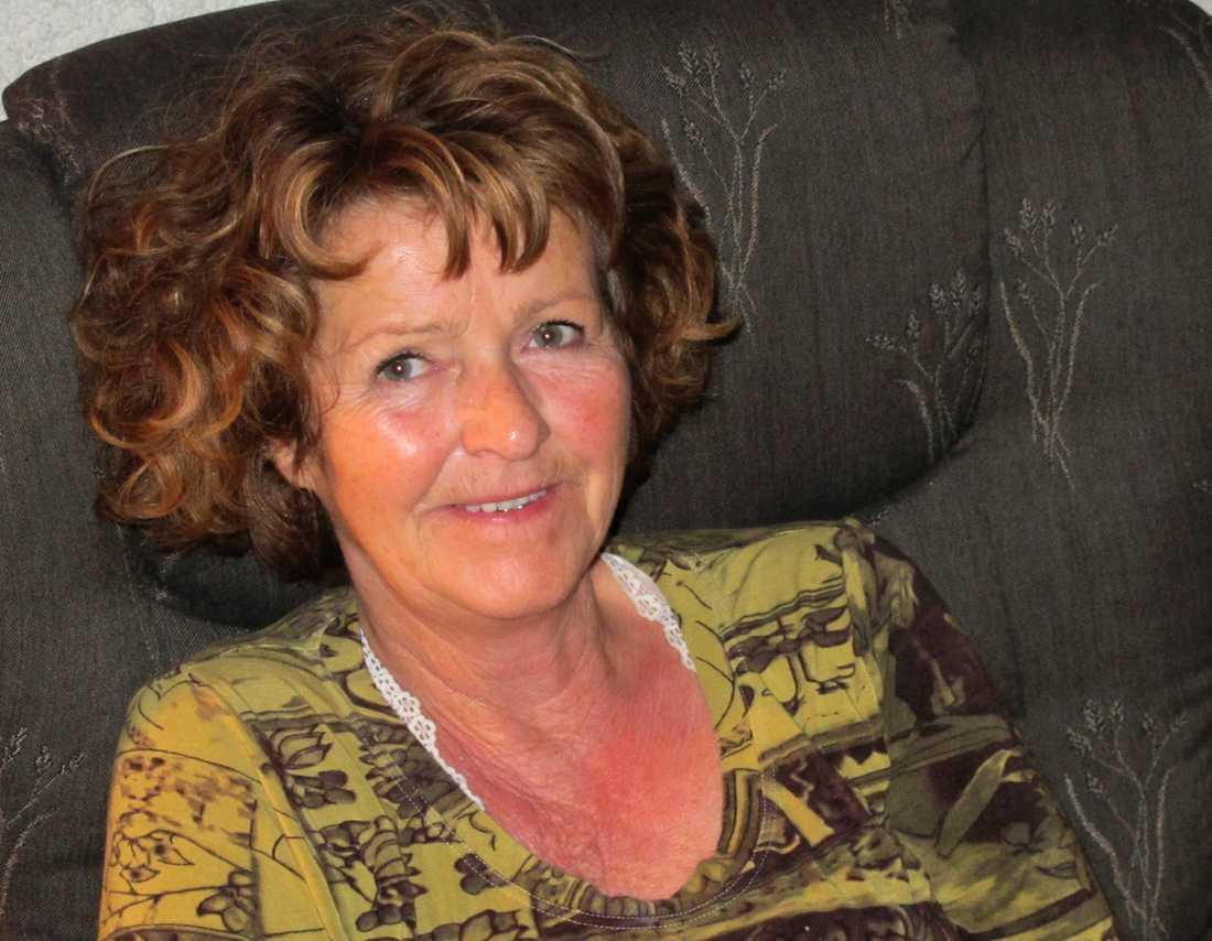 Anne-Elisabeth Falkevik Hagen har saknats i tio veckor och misstänks vara kidnappad. Bilden är odaterad och gavs ut av polisen på onsdagens presskonferens.