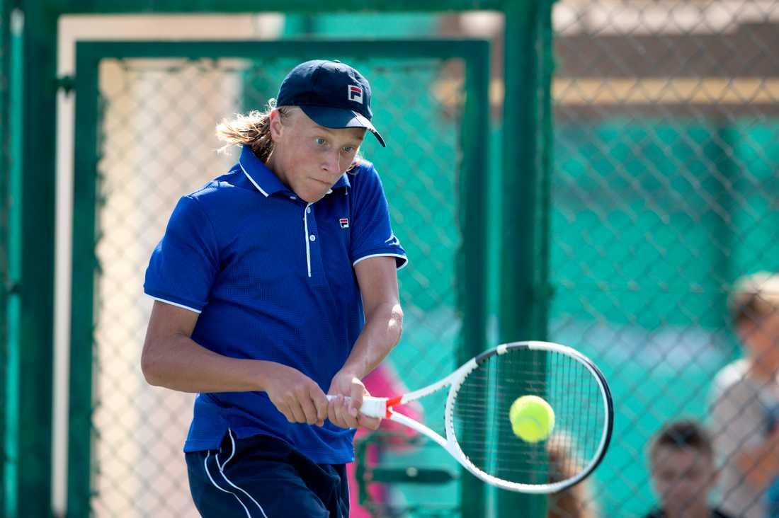 32787a4b1f5 Leo Borg ska bli lika bra som pappa Björn Borg på tennis | Aftonbladet