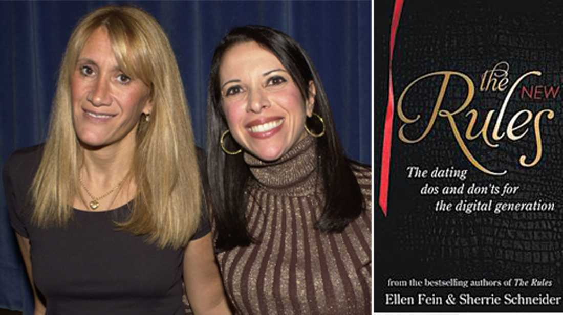 """Ellen Fein och Sherrie Schneider har skrivit boken """"The New Rules"""" för nätdejting."""