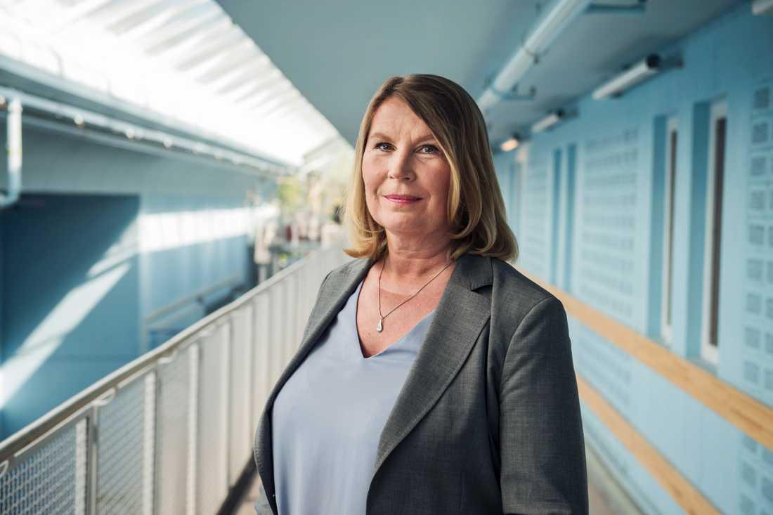 Charlotta Friborg, ansvarig utgivare på SVT:s riksnyheter.