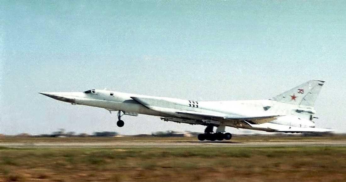 En rysk Tupolev-22M3.