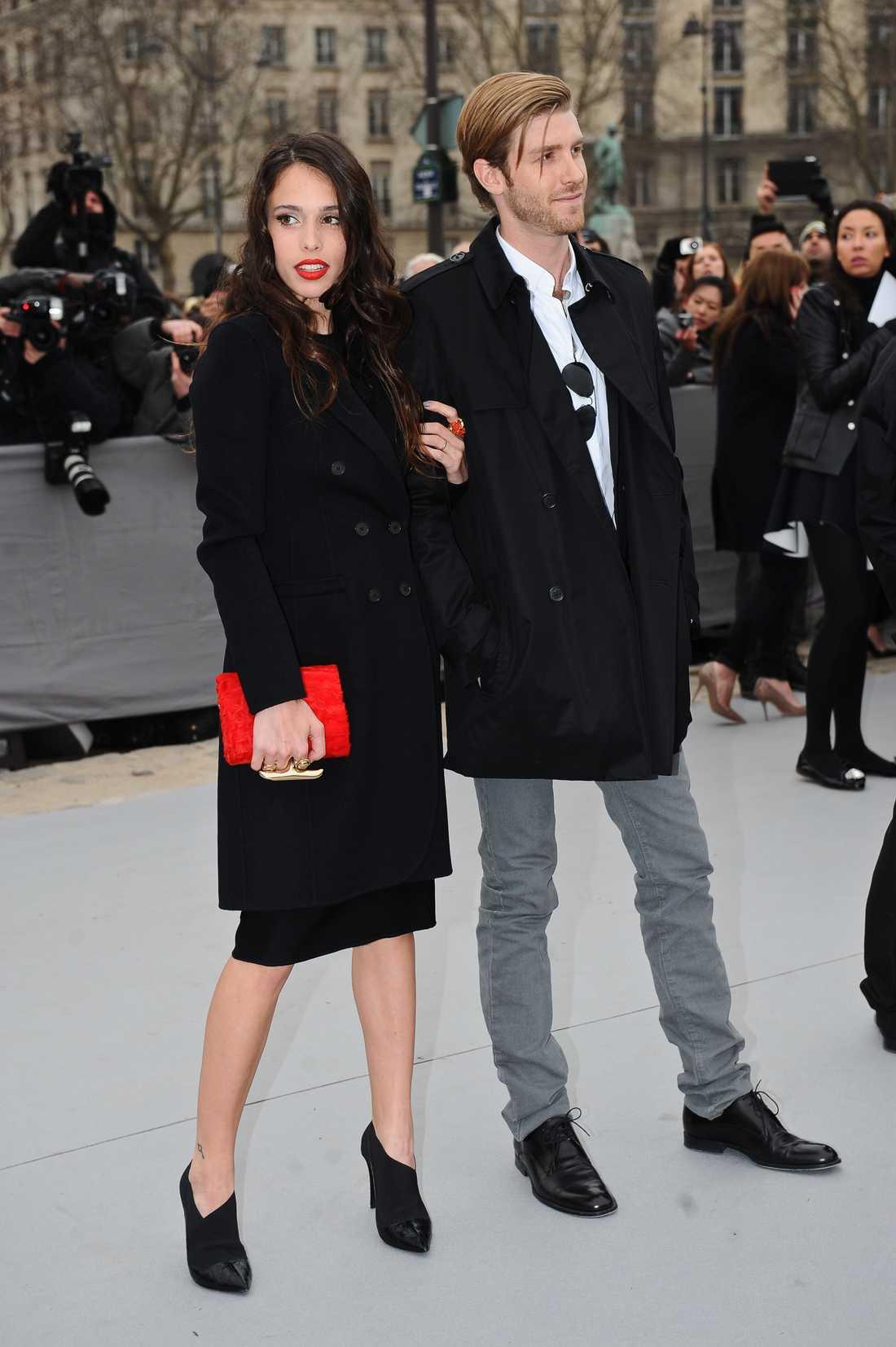 Chelsea Tyler och skådespelaren Jon Foster