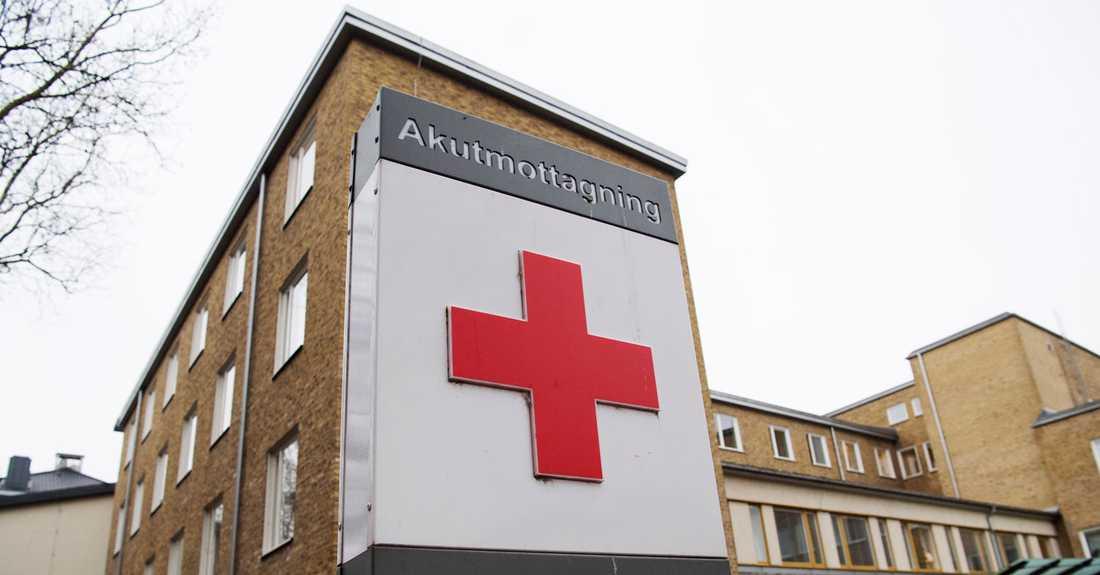 Skåne universitetssjukhus i Malmö.