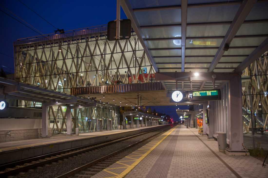 Östra station i Umeå.