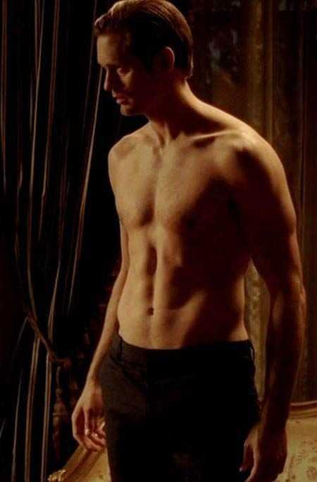 Skarsgård i True Blood.