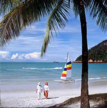 Langkawi är ett av Malaysias turistparadis.