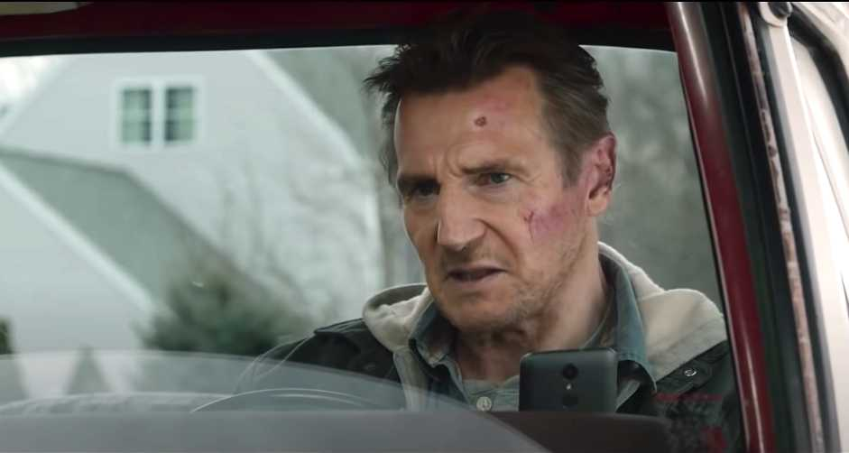 "Liam Neeson i ""Honest thief""."